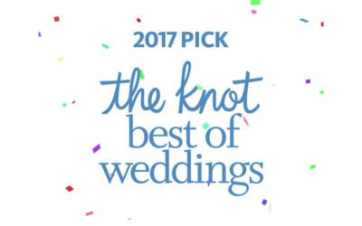 We won!! The Knot Best of Weddings 2017